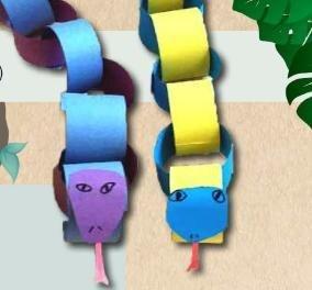 paper snake models