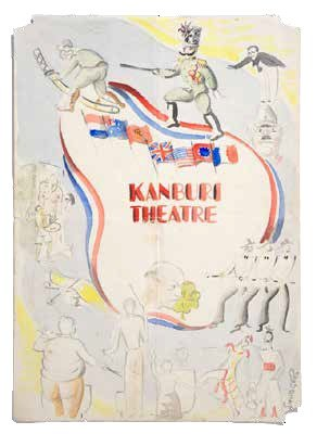Theatre programme designed by FEPOW